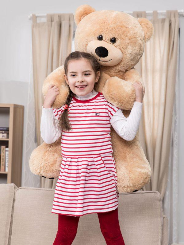 Daney teddy bear 3foot light brown 024