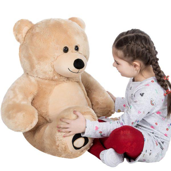 Daney teddy bear 3foot light brown 025