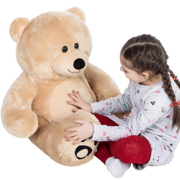 Daney teddy bear 3foot light brown 026