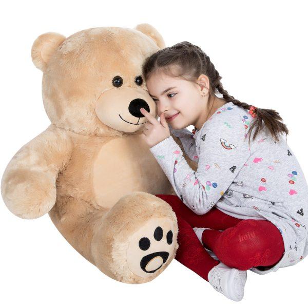 Daney teddy bear 3foot light brown 027