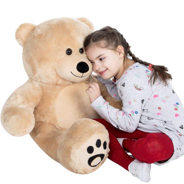 Daney teddy bear 3foot light brown 028