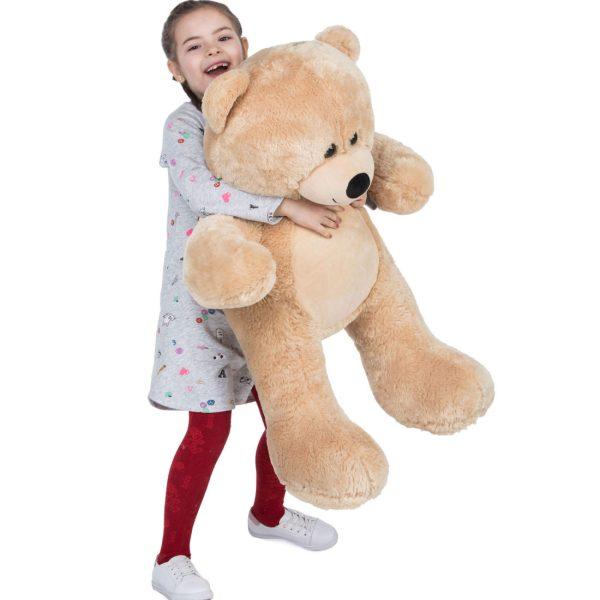 Daney teddy bear 3foot light brown 030