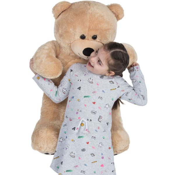 Daney teddy bear 3foot light brown 031