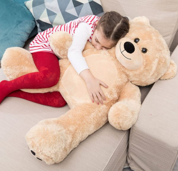 Daney teddy bear 3foot light brown 032