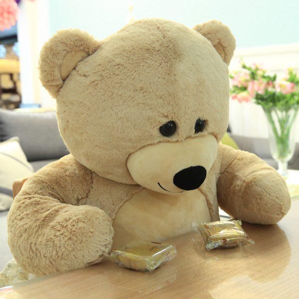 Daney teddy bear 3foot light brown 034