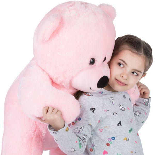 Daney teddy bear 3foot pink 003