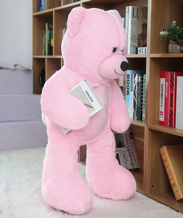 Daney teddy bear 3foot pink 005