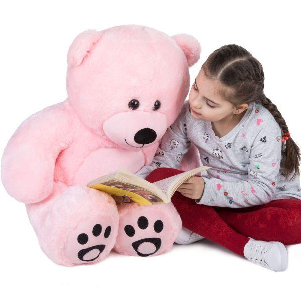 Daney teddy bear 3foot pink 007