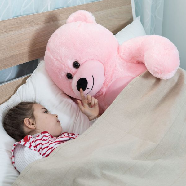 Daney teddy bear 3foot pink 008