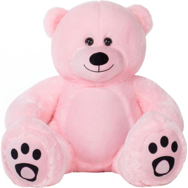 Daney teddy bear 3foot pink 010