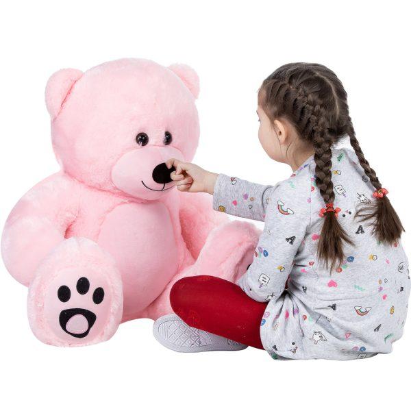 Daney teddy bear 3foot pink 019