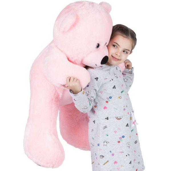 Daney teddy bear 3foot pink 020