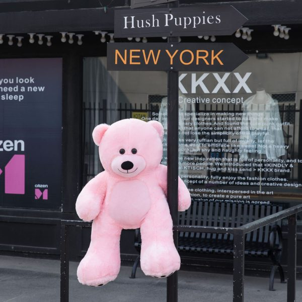 Daney teddy bear 3foot pink 023