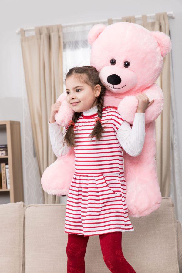 Daney teddy bear 3foot pink 024