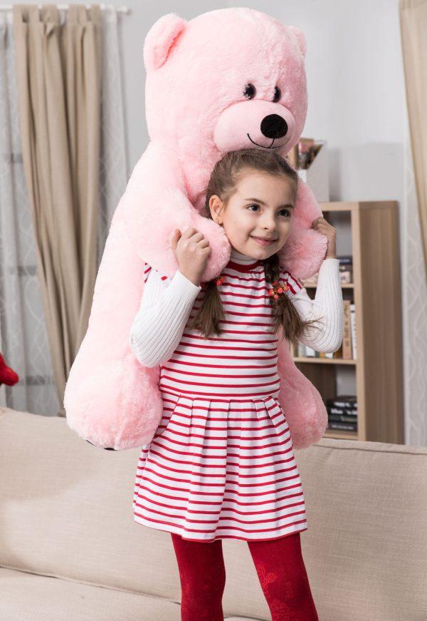 Daney teddy bear 3foot pink 025
