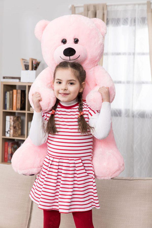 Daney teddy bear 3foot pink 026