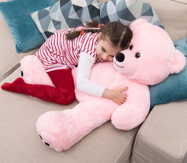 Daney teddy bear 3foot pink 027