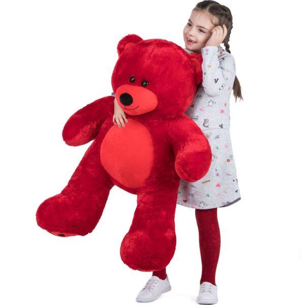 Daney teddy bear 3foot red 005