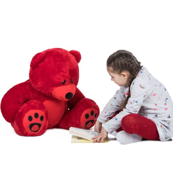 Daney teddy bear 3foot red 008