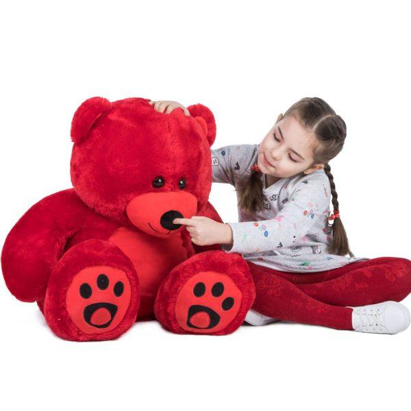 Daney teddy bear 3foot red 010