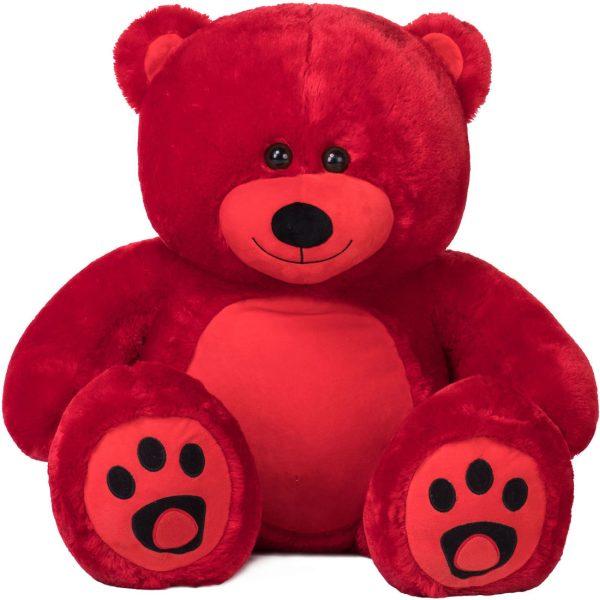 Daney teddy bear 3foot red 011