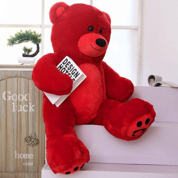 Daney teddy bear 3foot red 015