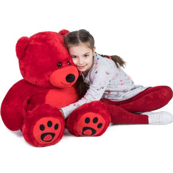 Daney teddy bear 3foot red 016