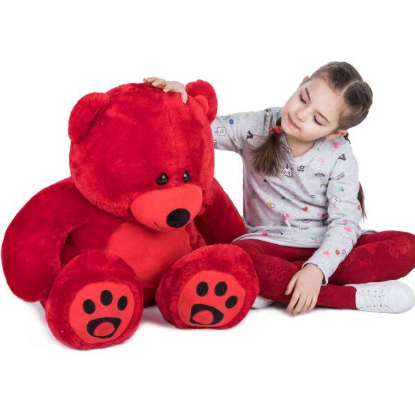 Daney teddy bear 3foot red 017