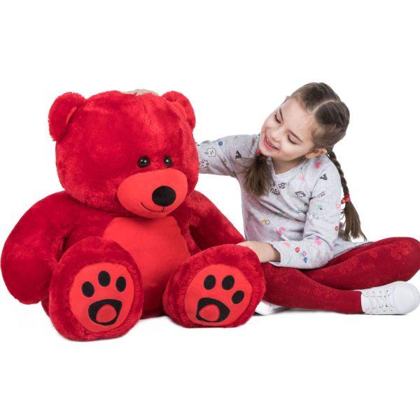 Daney teddy bear 3foot red 018