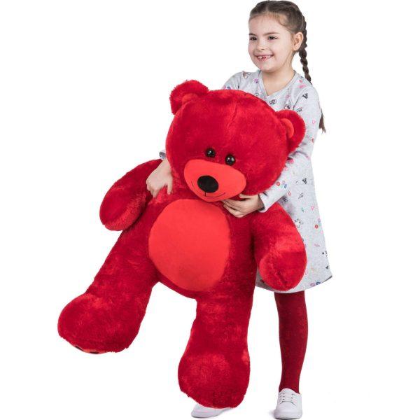 Daney teddy bear 3foot red 019