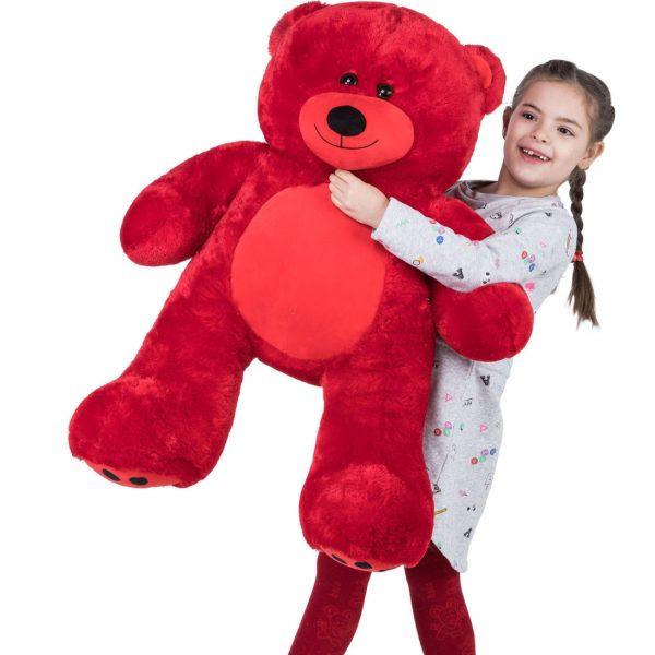 Daney teddy bear 3foot red 020