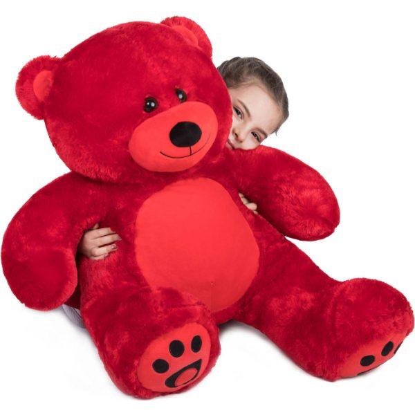 Daney teddy bear 3foot red 022