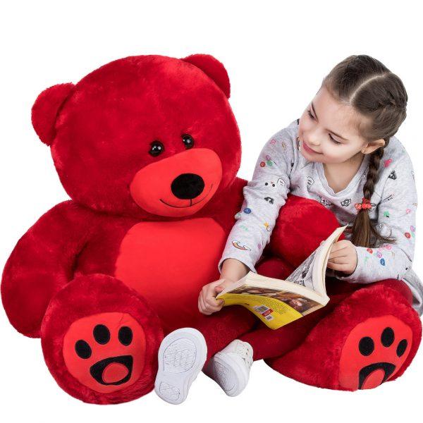 Daney teddy bear 3foot red 023