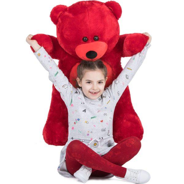 Daney teddy bear 3foot red 025