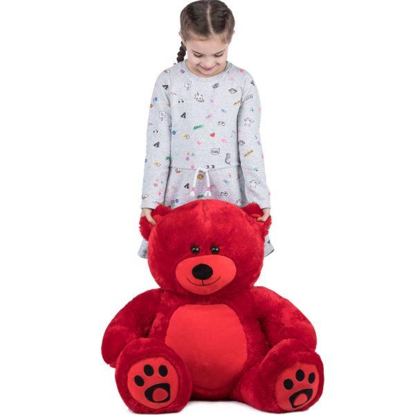Daney teddy bear 3foot red 026