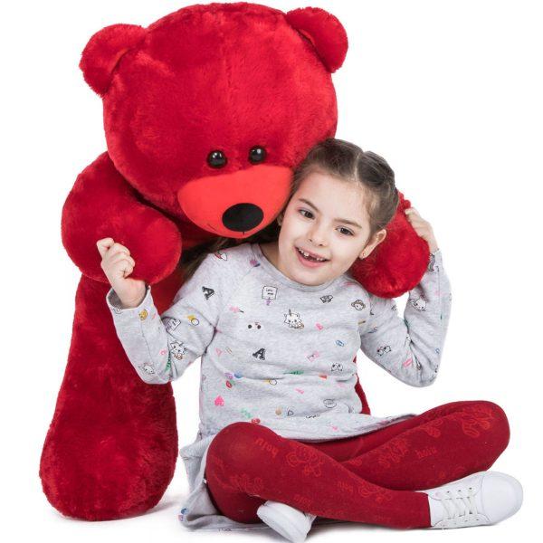 Daney teddy bear 3foot red 027