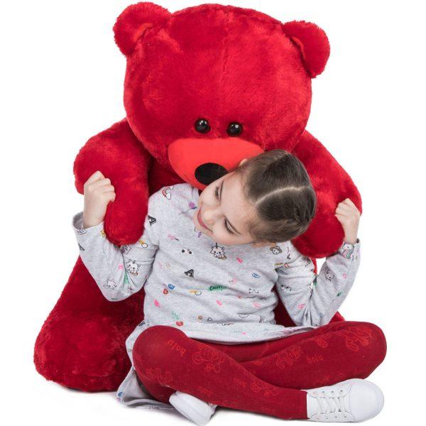 Daney teddy bear 3foot red 028