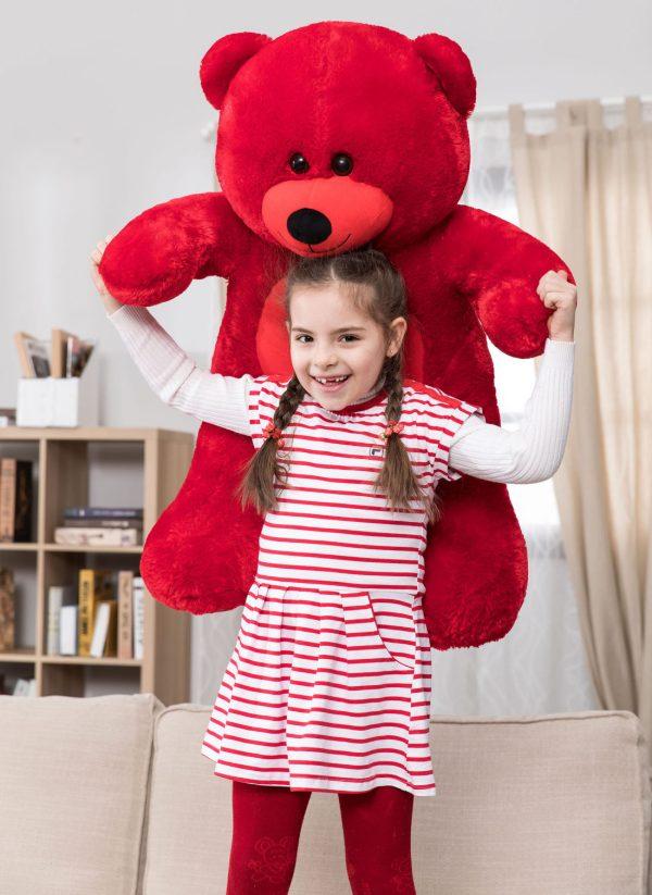 Daney teddy bear 3foot red 030