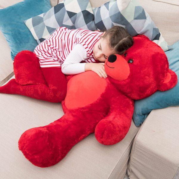 Daney teddy bear 3foot red 032