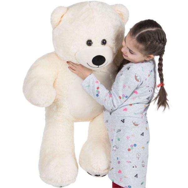 Daney teddy bear 3foot white 004