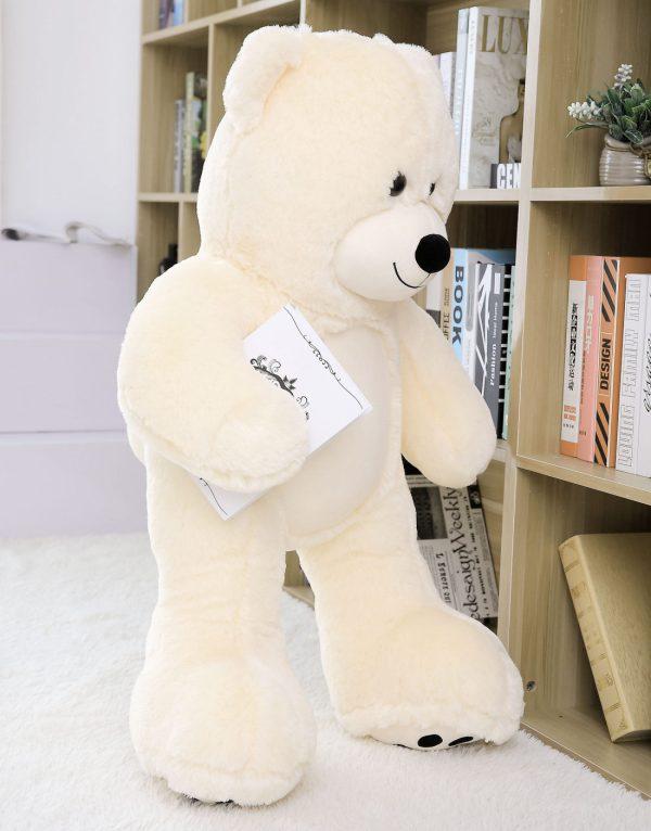 Daney teddy bear 3foot white 005