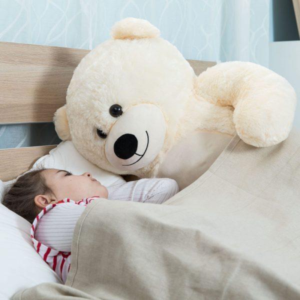 Daney teddy bear 3foot white 006