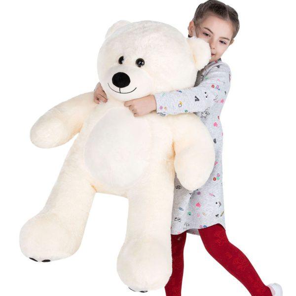 Daney teddy bear 3foot white 008