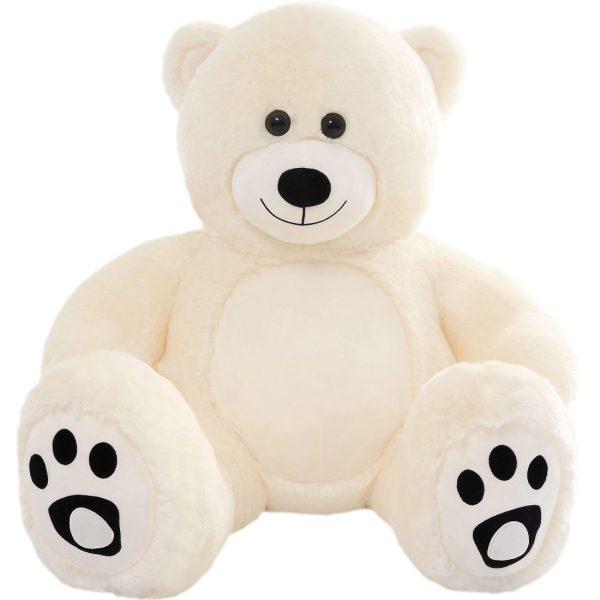 Daney teddy bear 3foot white 011