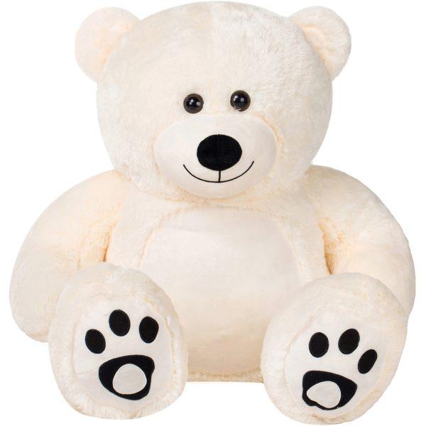 Daney teddy bear 3foot white 012