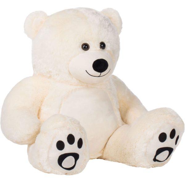 Daney teddy bear 3foot white 013