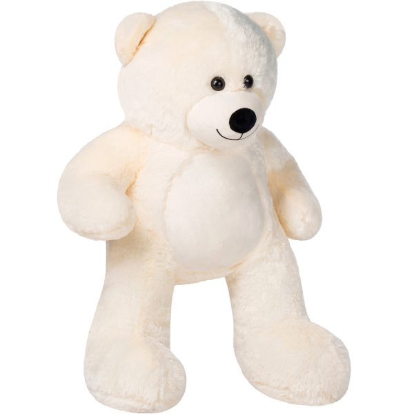 Daney teddy bear 3foot white 014