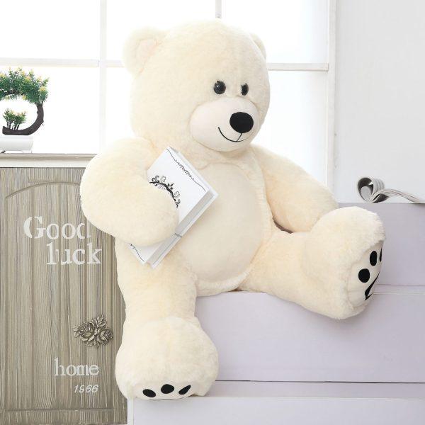 Daney teddy bear 3foot white 015