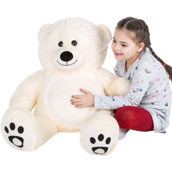 Daney teddy bear 3foot white 021