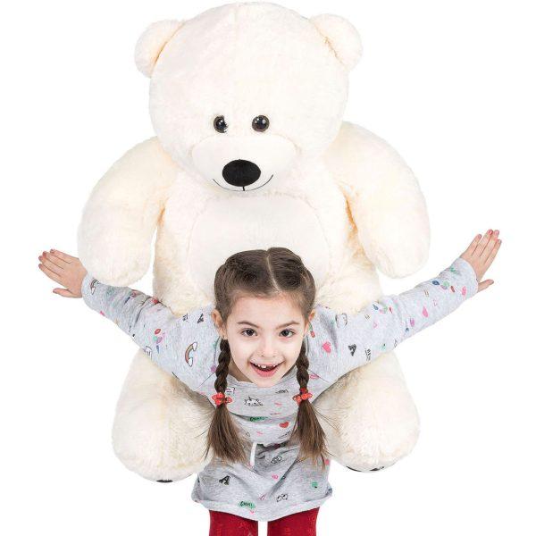Daney teddy bear 3foot white 022